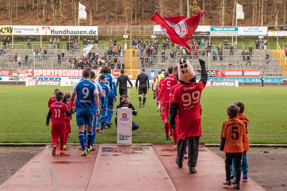 Sportfreunde Siegen - TSG Sprockhövel 0:3 -- Oberliga Westfalen, Saison 17/18
