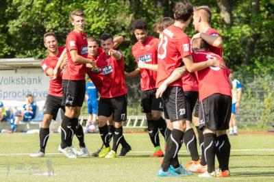 TSG Sprockhövel - ASC Dortmund 3:3 -- Oberliga Westfalen, Saison 17/18