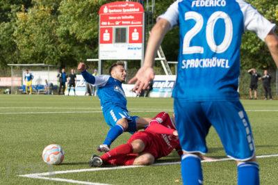 TSG Sprockhövel - Hammer SV 0:0 -- Oberliga Westfalen, Saison 17/18