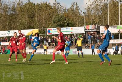 FC Eintracht Rheine - TSG Sprockhövel 3:3 -- Oberliga Westfalen, Saison 17/18