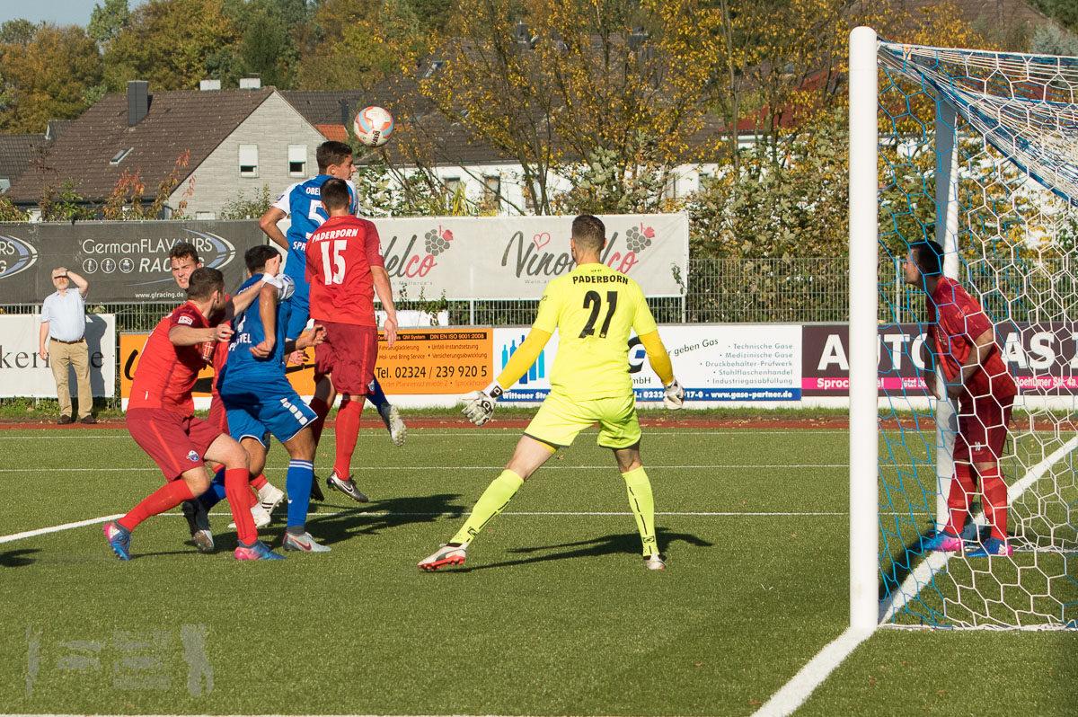 TSG Sprockhövel -. SC Paderborn II 2:2-- Oberliga Westfalen, Saison 17/18